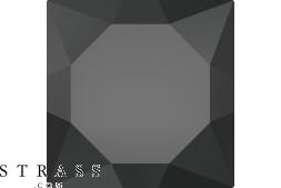 Swarovski Kristalle 3500 MM 12,5X 7,0 JET (1032214)