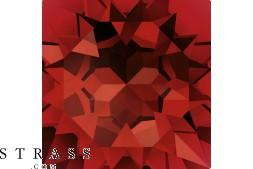 Swarovski Kristalle 2028 SS 8 RUBY F (668438)