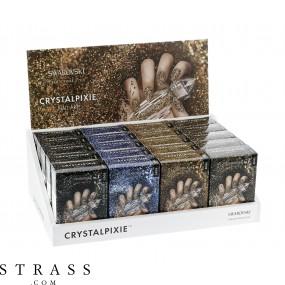 CRYSTAL PIXIE   DIY Nageldesign mit Swarovski Kristallen   Nail Box Pixie - Easy Display Set - Herbst Edition