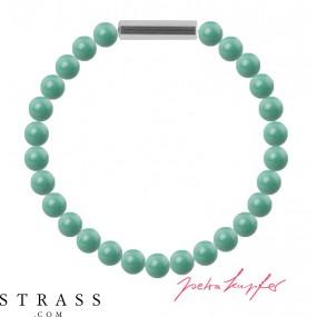 "Armband ""Perlenarmband Mini"" Jade Pearl, made with Swarovski Crystals"