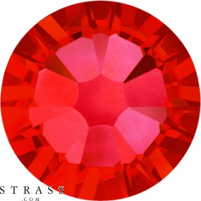 Swarovski Kristalle 2058 SS 10 LIGHT SIAM F (1108135) 200 Stück
