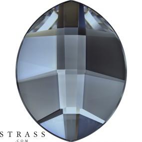 Swarovski Kristalle 2204 MM 6,0X 4,8 CRYSTAL BL.SHADE M HF (1167475)