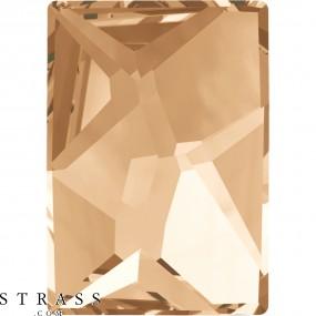 Swarovski Kristalle 2520 MM 14,0X 10,0 CRYSTAL GOL.SHADOW F (850608)