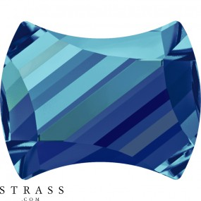 Swarovski Kristalle 2540 Crystal (001) Bermuda Blue (BBL)