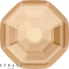 Swarovski Kristalle 2611/G Crystal (001) Golden Shadow (GSHA)