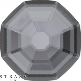 Swarovski Kristalle 2611/G Crystal (001) Silver Night (SINI)