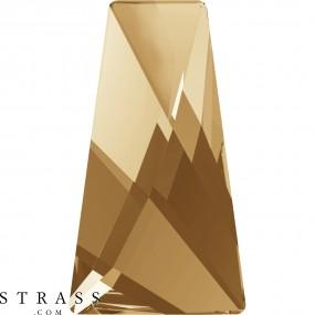 Swarovski Kristalle 2770 Crystal (001) Golden Shadow (GSHA)