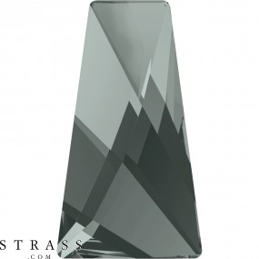 Swarovski Kristalle 2770 Black Diamond (215)