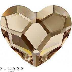 Swarovski Kristalle 2808 Crystal (001) Golden Shadow (GSHA)