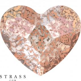 Swarovski Kristalle 2808 Crystal (001) Rose Patina (ROSPA)