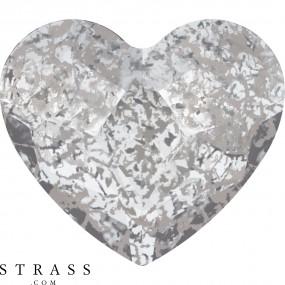Swarovski Kristalle 2808 Crystal (001) Silver Patina (SILPA)
