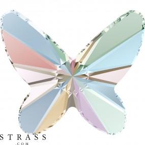 Swarovski Kristalle 2854 Crystal (001) Aurore Boréale (AB)