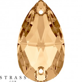Swarovski Kristalle 3230 Crystal (001) Golden Shadow (GSHA)