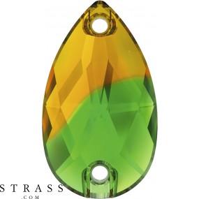 Swarovski Kristalle 3230 Fern Green Topaz Blend (724)