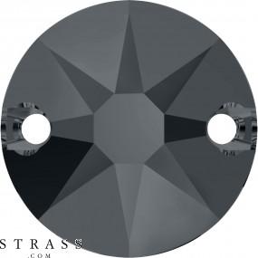 Swarovski Kristalle 3288 Crystal (001) Silver Night (SINI)