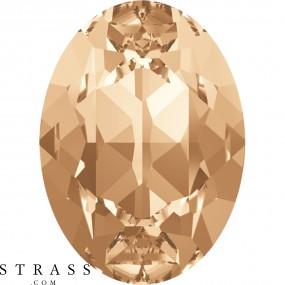 Swarovski Kristalle 4120 MM 8,0X 6,0 CRYSTAL GOL.SHADOW (5013636)