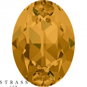 Swarovski Kristalle 4120 Topaz (203)