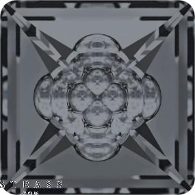 Swarovski Kristalle 4481 Crystal (001) Silver Night (SINI)