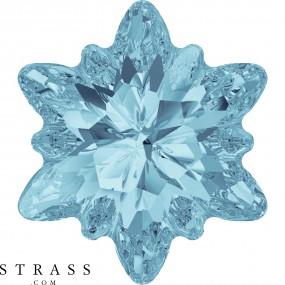 Swarovski Kristalle 4753 Aquamarine (202)