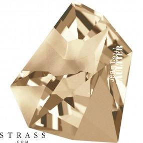 Swarovski Kristalle 4922 Crystal (001) Golden Shadow (GSHA)