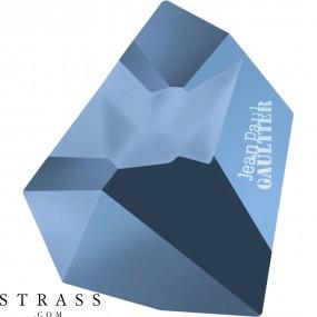 Swarovski Kristalle 4922 MM 38,0X 33,0 CRYSTAL MET.BLUE F T1159 (5206179)