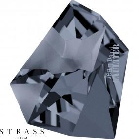 Swarovski Kristalle 4922 Crystal (001) Silver Night (SINI)