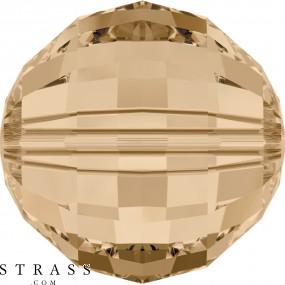 Swarovski Kristalle 5005 MM 8,0 CRYSTAL GOL.SHADOW (968434)