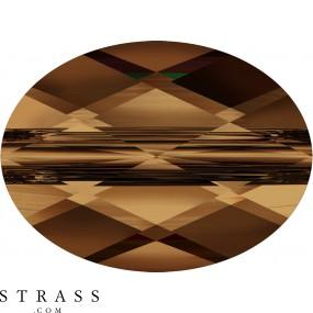 Swarovski Kristalle 5051 Smoked Topaz (220)