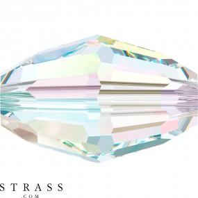 Swarovski Kristalle 5200 MM 6,0X 4,0 CRYSTAL AB (110147)