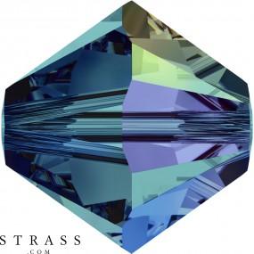 Swarovski Kristalle 5328 MM 6,0 INDICOLITE AB (1028615)
