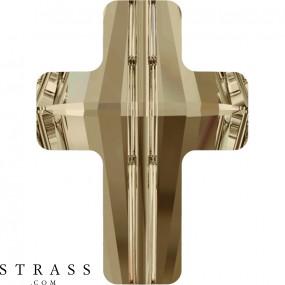 Swarovski Kristalle 5378 Crystal (001) Golden Shadow (GSHA)