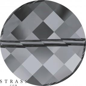 Swarovski Kristalle 5621 Crystal (001) Silver Night (SINI)