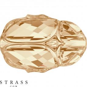 Swarovski Kristalle 5728 MM 12,0 CRYSTAL GOL.SHADOW (5236358)