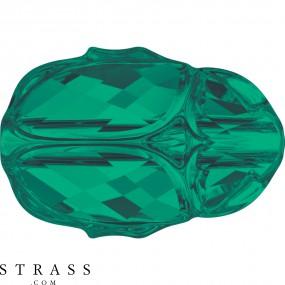 Swarovski Kristalle 5728 Emerald (205)