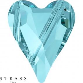 Swarovski Kristalle 5743 Aquamarine (202)