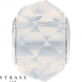 Swarovski Kristalle 5948 MM 14,0 WHITE OPAL STEEL (1184581)