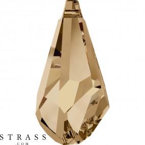 Swarovski Kristalle 6015 Crystal (001) Golden Shadow (GSHA)