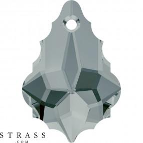 Swarovski Kristalle 6090 MM 16,0X 11,0 BLACK DIAMOND (879731)