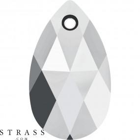 Swarovski Kristalle 6106 Crystal (001) Light Chrome (LTCH)