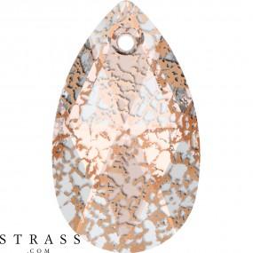 Swarovski Kristalle 6106 MM 28,0 CRYSTAL ROSE-PAT (5101548)