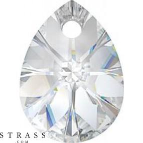 Swarovski Kristalle 6128 Crystal (001) Rose Gold Both Sides (ROGL2X)