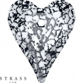 Swarovski Kristalle 6240 MM 27,0 CRYSTAL BLACK-PAT (5098180)