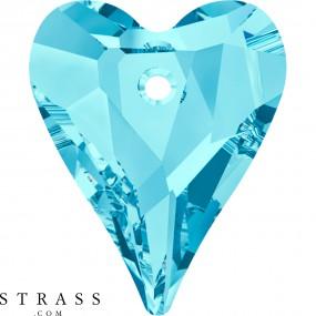 Swarovski Kristalle 6240 MM 17,0 AQUAMARINE (1053717)