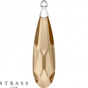 Swarovski Kristalle 6533 Crystal (001) Golden Shadow (GSHA)