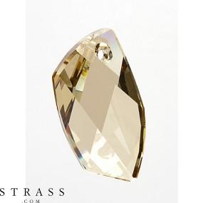 Swarovski Kristalle 6620 Crystal (001) Golden Shadow (GSHA)