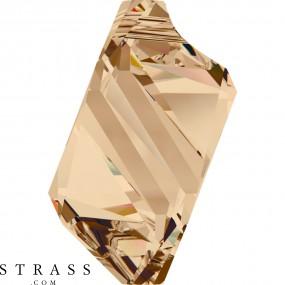 Swarovski Kristalle 6650 MM 22,0 CRYSTAL GOL.SHADOW (897155)