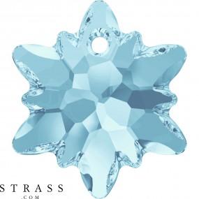 Swarovski Kristalle 6748 MM 14,0 AQUAMARINE (5103754)