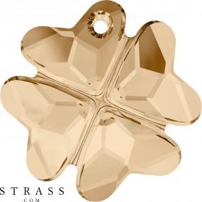 Swarovski Kristalle 6764 Crystal (001) Golden Shadow (GSHA)