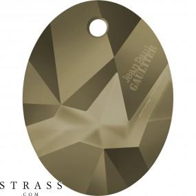 Swarovski Kristalle 6910 MM 26,0 CRYSTAL METLGTGOLD T1162 (5148956)