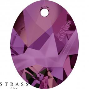 Swarovski Kristalle 6910 MM 26,0 CRYSTAL VOLC P T1162 (5148947)